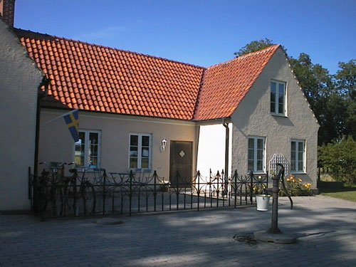Borrby Kungsgård Brygghuset framsidan