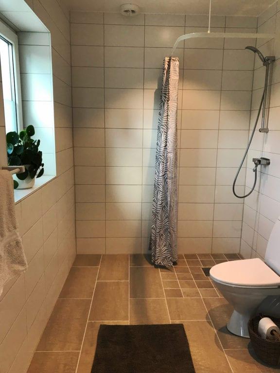 Borrby Kungsgård Hemvärnsgården Öst badrum