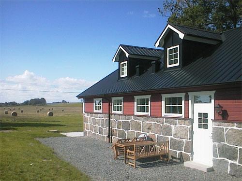 Borrby Kungsgård Svinhuset 2 entrén
