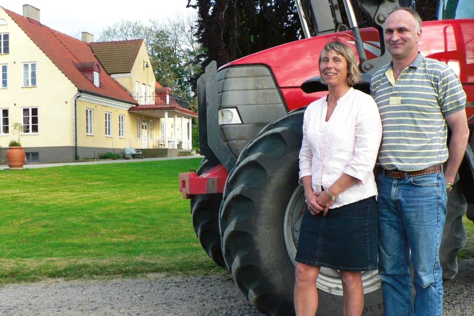 Kerstin och Henric Brinte på Borrby Kungsgård